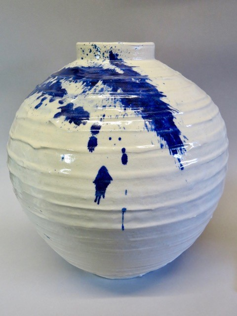 Beautiful Ceramics by Tony Orvis now showing....