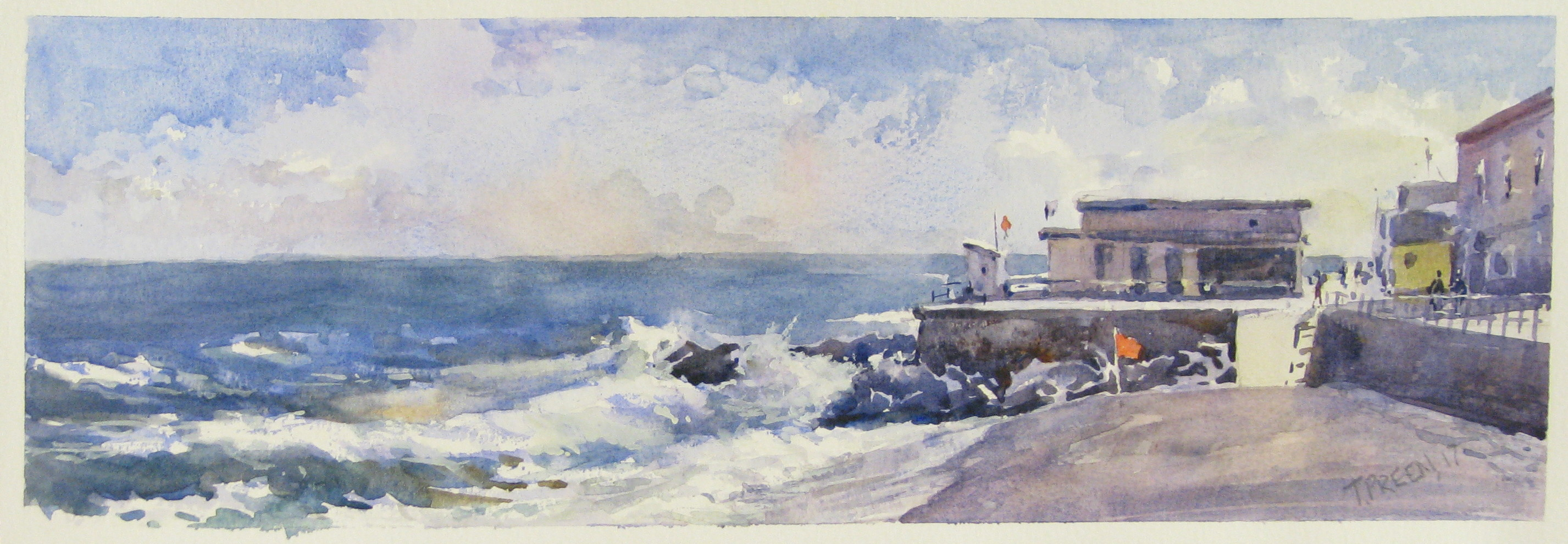 New Inspiring Watercolours from Terry Preen