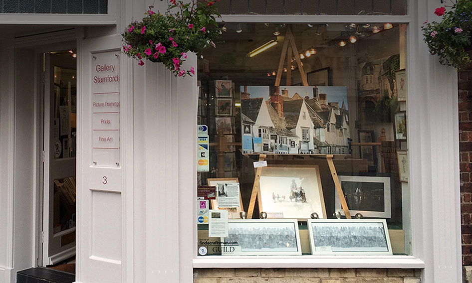 Our gallery in the heart of Stamford