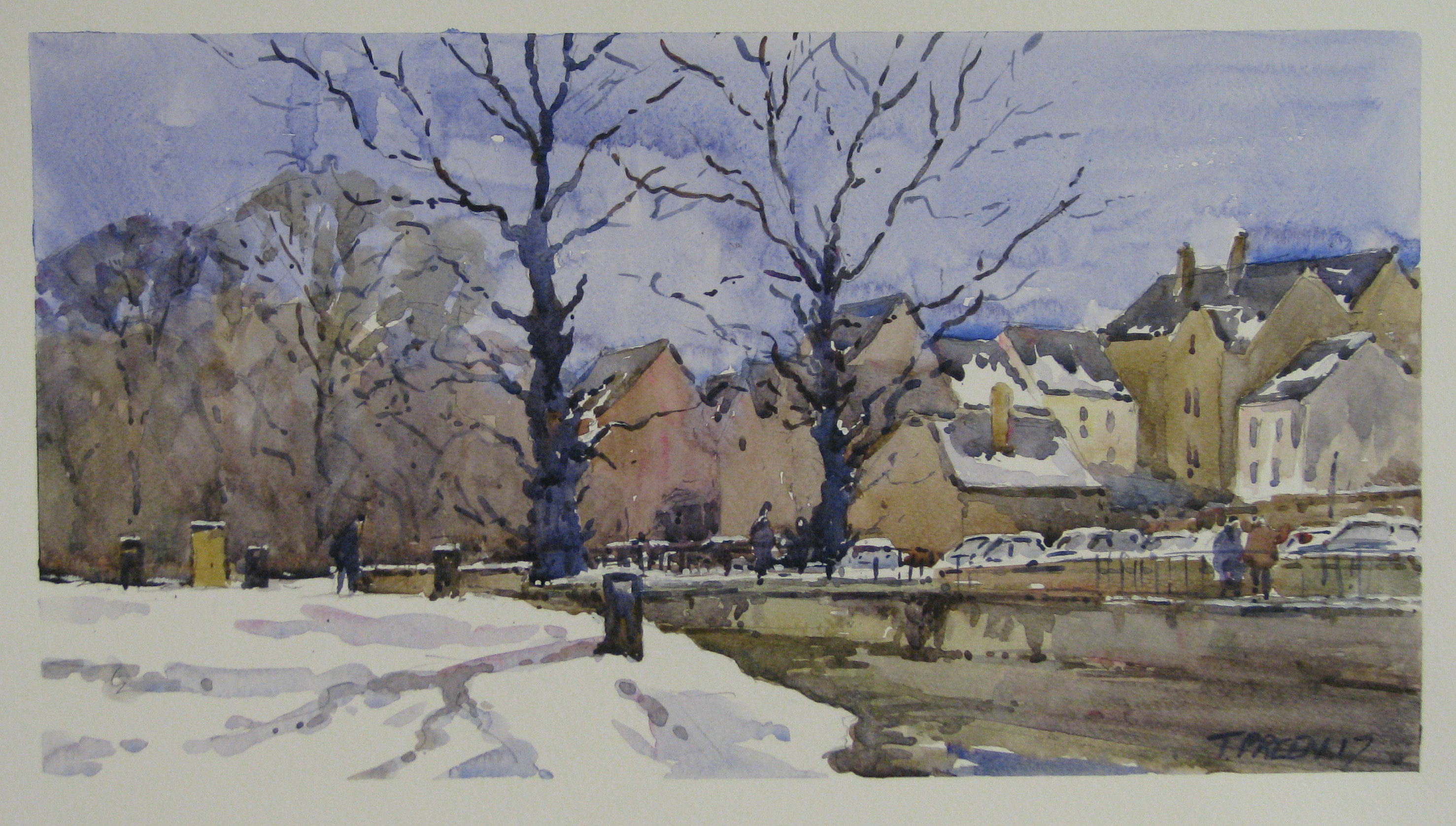 A Wonderful Opportunity to see the latest inspiring watercolours by Terry Preen